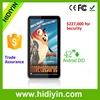 42 inch indoor wall mount advertising player/lcd ad player/totem screen touch screen optional