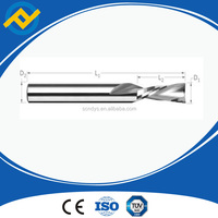 2 flutes cemented carbide end mill tools