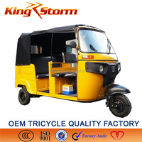 bajaj tricycle for passengers/4 storkes tuk tuk/ motorlized tricycle