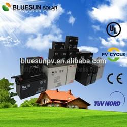 Bluesun deep cycle low sel-discharge 12v 200ah motorcycle gel batteries