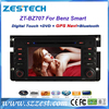 Zestech for Mercedes Benz Smart Fortwo 2010 Car dvd radio gps navigation with radio fm