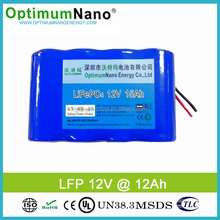 Hot Selling 12V 15Ah LiFePO4 Battery Packs for LED Light
