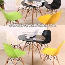 Barato de diseño moderno replica muebles de madera maciza mesas y sillas