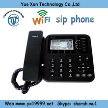 4 line business phone wifi ip sip phone support G.722/G.729/G.723 /G.711 Voice codec