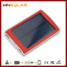 10000 mAh mobile solar charger for iphone 5, mini ipad,Blackberry with CE&ROHS&FCC mobile. solar. charger