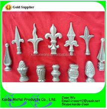 Wholesale Decorative Cast Iron/ Wrought Iron Spear Points For Fencing & Gates & Trellis
