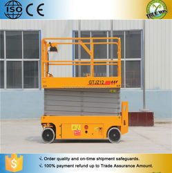 Christmas wholesale warehouse cargo aerial self propelled scissor lift table for sale