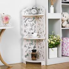 morden plastic bathroom & kitchen storage shelf