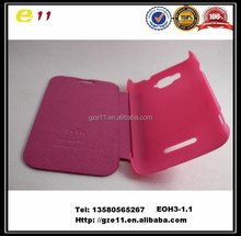 Fashion design H3 phone cover for tecno H3 with high PU leather PC!