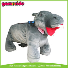 AT0621 wholesale walking happy horse plush toys in shanghai