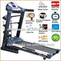 Esteira Athletic Commercial 4hp treadmill incline motor treadmill multifunctional treadmill EX-709A