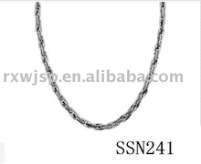 Men's Rope Stainless Steel Necklace, 22""