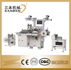 China factory manufacturer direct creasing machine / die cutting and creasing machine / paper creasing machine