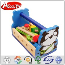alibaba.com contact number newest products 2015 wooden toy mechanic tool box set