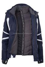 fashion fancy waterproof and windproof outdoor motorcycle men's ski jacket