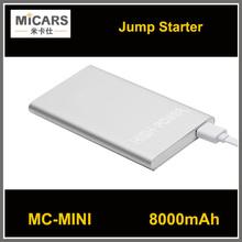 12V emergency kit mini multifunction jump starter car, jump start battery jumper power 8000mah MCmini car jump starter
