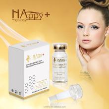 Cuidado de la piel cosmética natural feliz + QBEKA sintético suero péptido de venta al por mayor vitamin c Serum ageless suero