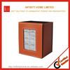 Desktop organizer pen holder foldable leather pen storage box