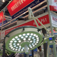 YCLED500 Ceiling Mounted Single Dome LED surgical light