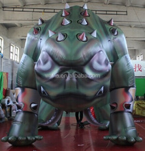 4m high green giant inflatable monster