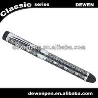 high class dewen promotional gift fountain pen,heavy metal fountain pen