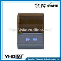 Factory Direct Sales YHDAA Mini 58Mm Portable Bluetooth Printer