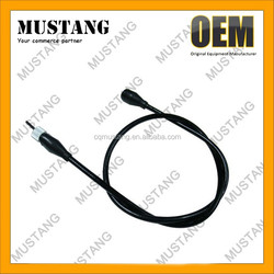 Hot sales motorcycle speed cable, Speedometer cables motorcycle, steel Al and Pvc material