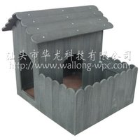 indoor wooden dog house