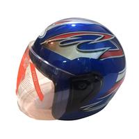 Anti-scratch PC Or PET Visor Comfortable Cheek Pad Motorcycle Half Face Helmet