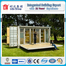 2015 New Design ISO certificate economic prefabricated container office building LIDA Group