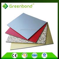 Greenbond 5mm acp plastic panels for walls