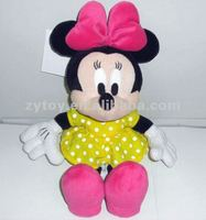 Custom stuffed toy plush Mickey mouse for Disney supplier