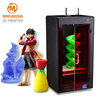 MINGDA brand high quality Nozzle without blocking print size 300*200*600mm high precision industrial 3d printer stepper motor