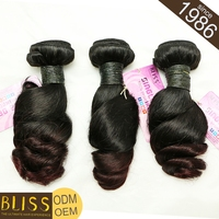 Can Be Dyed 100% Natural Raw Indian Virgin Hair Free Shipping
