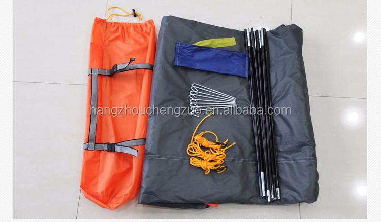 뜨거운 판매 자동 유압 봄 스타일 더블 레이어 4 인 방수 가족 캠핑 텐트, S-ZP009, 사계절 텐트