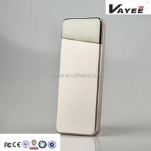 Warranty! 100% Original Power Bank 5200mag External Battery Pack Silver Color