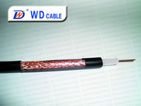Factory price 2.5c-2v rg9/rg11 coaxial cable in communication