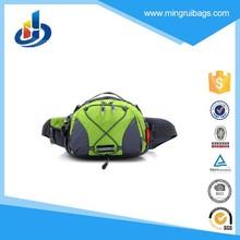 Outdoor sports waist bag for men Jogging zipper shoulder bag hiking travel bag waterproof Safety Reflective tape fanny pack