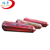 2015 High Quality Customize Pure NATURAL Decorating VOGEL red jasper CRYSTAL POINT