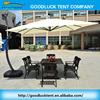 Leisure waterproof garden cafe outdoor patio umbrella
