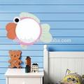 venda quente rosa peixe crianças lâmpada conduzida da parede dos desenhos animados garoto de luz na parede