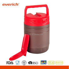Everich 1.2L Hot sale outdoor plastic lunch box with spoon
