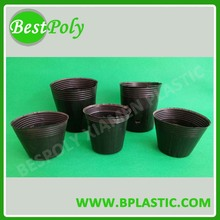 Nutrition nursery plastic flower pot tray set for seeding