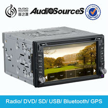 s100 car dvd for Universal with usb adapter for car stereo built in GPS navigation system 1.2G cpu