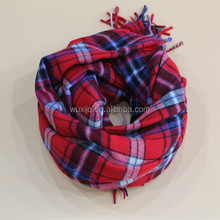 Wuxi Shawl Supplier of plaid stole company scarves