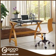 Modern wooden computer table design