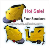 MB55 mini walk-behind road sweeper washing machines for ceramics hand held electric scrubber