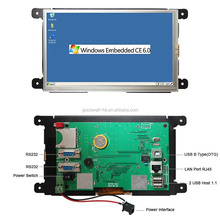 7 Inch Win CE 6.0 Embedded Tablet PC with RJ45 Port for Industries