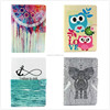 Cartoon Flip Wallet PU+TPU Leather Stand Case Cover for Apple iPad 2 3 4