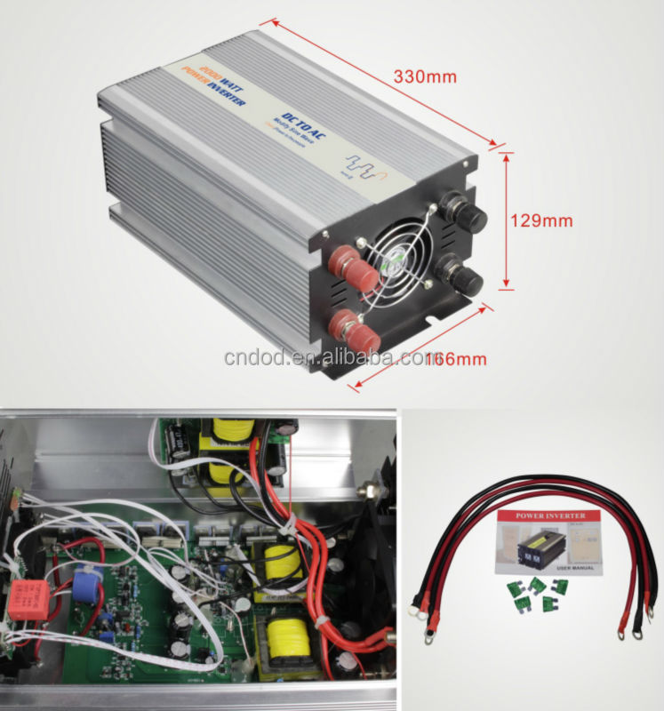 improvise dc to ac inverter Dc stands for direct current, while ac stands for alternating current in order to make your systems work, you have to convert the dc voltage to an ac wave that goes up and down, over and under 0 volts.